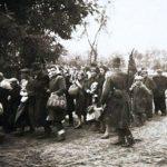 Jedrzejów, 16. September 1942: Deportation von Juden aus dem Ghetto, Aufnahme von Ryszard Kruk (1922 – 1943) © Andreovia.pl/gemeinfrei