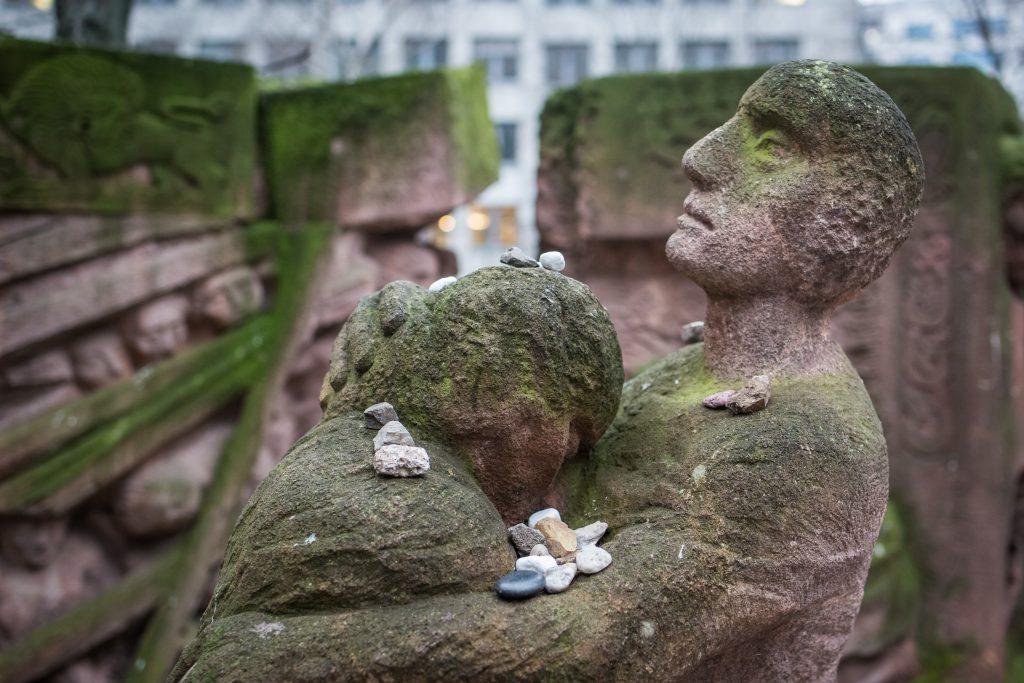 Skulptur in der Rosenstraße