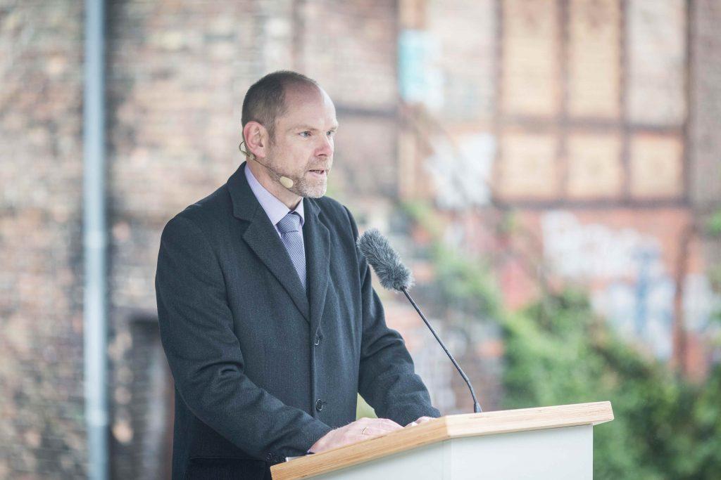 Dr. Axel Drecoll, Direktor der Stiftung Brandenburgische Gedenkstätten, Foto: Marko Priske