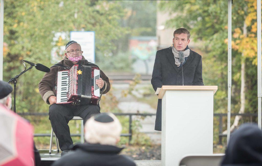 Uwe Neumärker, Direktor der Stiftung Denkmal für die ermordeten Juden Europas, Foto: Marko Priske
