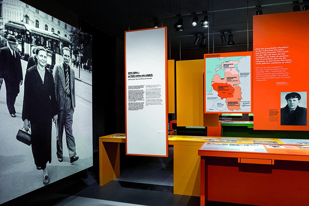 Die neue Dauerausstellung © Gedenkstätte Stille Helden